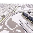 Images of the proposed redevelopment of Locking Road and Sunnyside Road car parks have been revealed