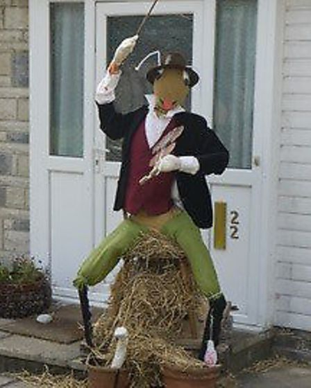 Uphill 13th Scarecrow Festival took place over two days recently with the theme Anything Goes.