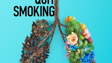 Support services are available to help people stop smoking.