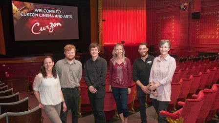 (Left to right) Karen Edgington, Oliver Treasure-Smith, Sam Jays, Clare Mactaggart, Toby Willems and