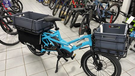 North Somerset Council are offering free loans for electric cargo bikes which could deliver goods du