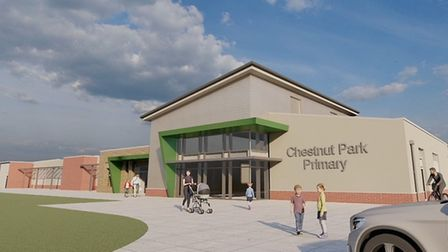 Plans for new school in Yatton's North End. Picture: Shane Dean