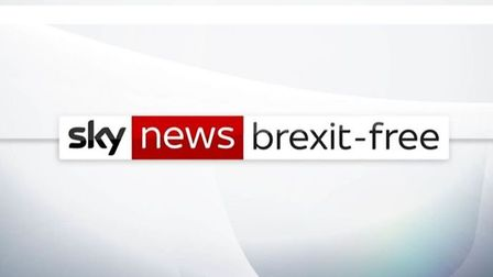 Sky's new news station promises to be Brexit free. Photograph: Sky.