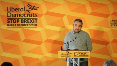 Actor Eddie Marsan is backing the Lib Dems in the general election. Photograph: Aaron Chown/PA Wire.