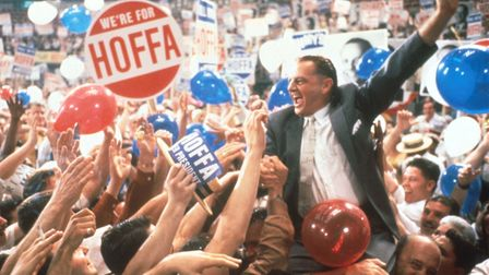 "Jack Nicholson plays James R. Hoffa in the film ""Hoffa"" June 15, 1991 in the USA. (Photo by Liaison"