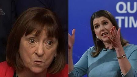 Jo Swinson is criticised for supporting austerity. Photograph: BBC.