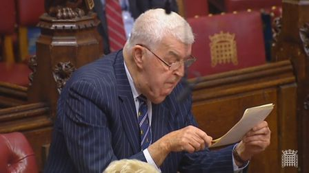 Lord Kilcooney in the House of Lords