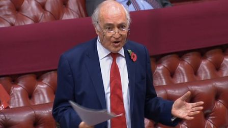 Michael Howard in the House of Lords