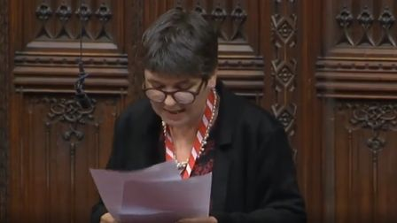 Claire Fox in the House of Lords
