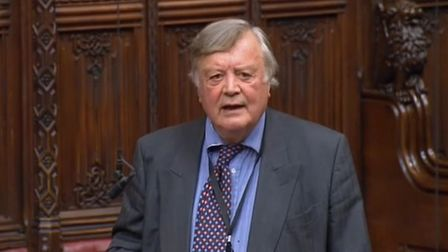 Ken Clarke in the House of Lords
