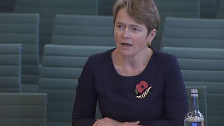 Dido Harding takes questions from MPs