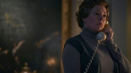 PICTURE SHOWS: Olivia Colman as Queen Elizabeth II in The Crown