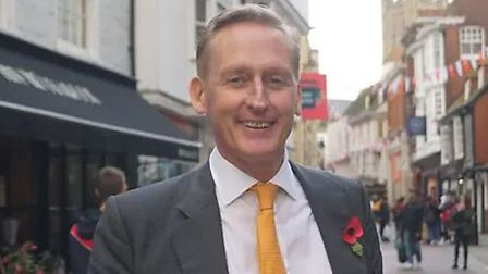 Tim Walker has stepped down as Liberal Democrat candidate for Canterbury. Photo: Twitter