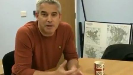Brexit secretary Steve Barclay has tweeted about football and immigration. Picture: Steve Barclay