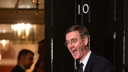 Jacob Rees-Mogg outside 10 Downing Street. Photo: Jeff J Mitchell/Getty Images