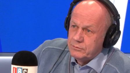 """A furious caller proved the Conservative's Damian Green wrong on Boris Johnson's """"lies"""" about facts"""