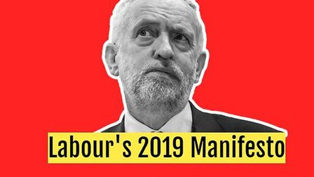 A new website showing Labour's manifesto for the general election was actually created by the Conser