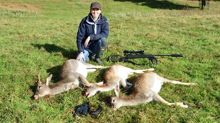 Helena is a keen shooter and is looking forward to exploring Welsh sport