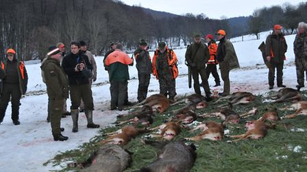 Hunting on the Continent is steeped in tradition