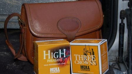 Hull Cartridge supplied two loads for Richard to test