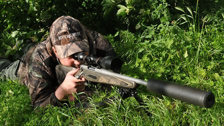 Stand a dead fox in the field to test your set-up at various ranges