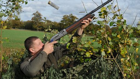 What kit does our pigeon expert use?