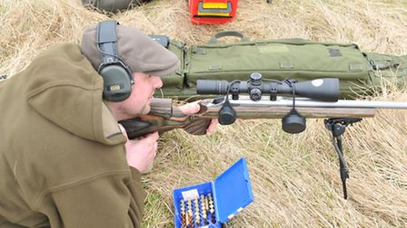 The day gave Dom a chance to use the T3 RS at ranges of up to 700 yards