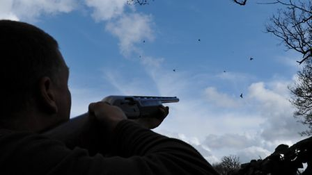 Despite his doubts, Andy had a good few hours' shooting