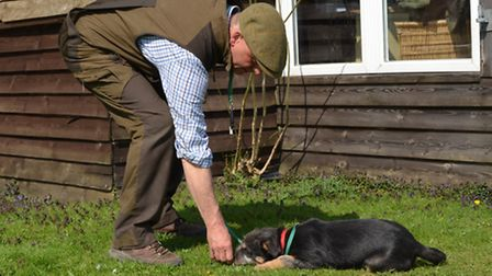 It's not only people that your puppy needs to socialise with; he needs to interact with other dogs t