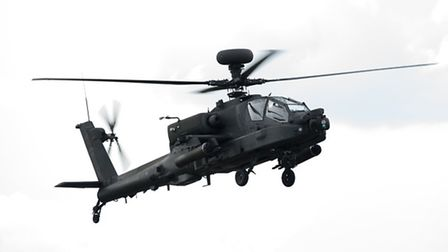 The Apache Attack Helicopter Display Team will appear at the show