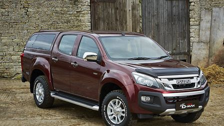 The D-Max picked up 'Editor's Choice' at a recent Trade Van Driver Awards