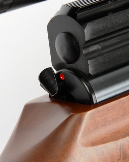 A genuine contender for airgunning's best safety-catch.