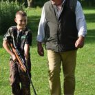 Billy's taking his final footsteps with me, but he's just starting his shooting journey.