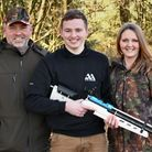 Shooting is in my family, and my mum and dad are my greatest supporters.