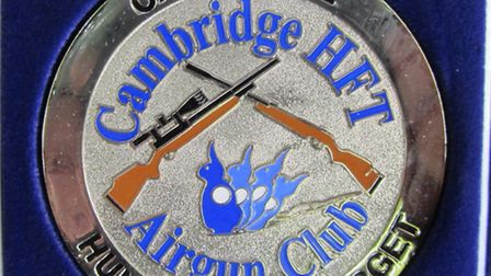 It's all about the bling and this Cambridge medal was well worth the effort