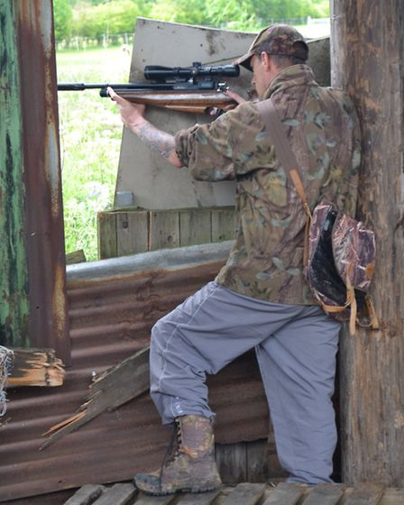 Shooting from the cover of buildings can be a very effective tactic,