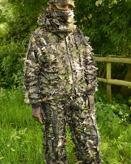 A leaf suit out of context can make you look like a swamp monster