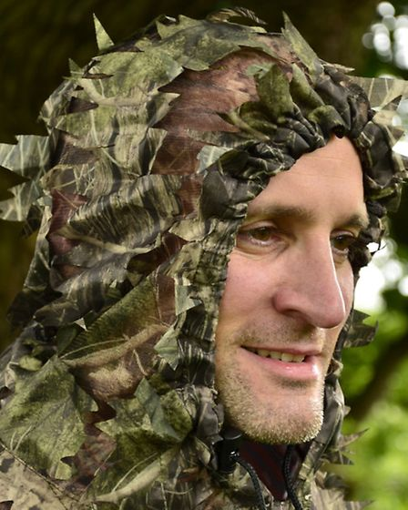 The hood on the jacket means that your head is camouflaged as well, which is vitally important when