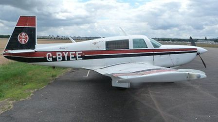 Mooney side view 2