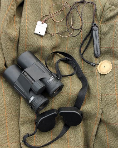 Binoculars are essential, along with the calls