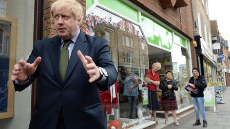 Boris Johnson, seen here outside Uxbridge library in 2018, has snubbed his own constituency hustings