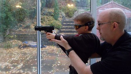 Proper supervision means being in full control of the junior shooter's actions.