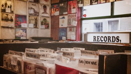Stockton's Sound it Out Records. Photo: Getty Images