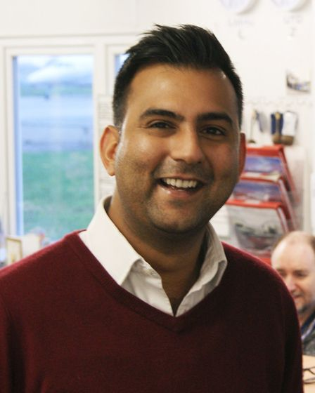 Anoop Bamrah, son of Amarjit, and CEO of EFG Flying School and several other flying clubs at Biggin