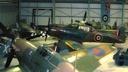 Spitfires, Hurricanes, an L4 and Harvard connect Biggin Hill back to its 'Brylcreem Boys' heritage