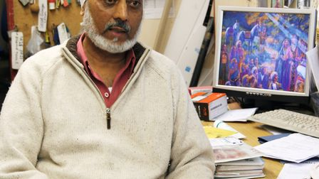 Amarjit Singh Bamrah, whose family operates the light aircraft maintenance business and flying clubs