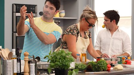 There will be daily cookery demos