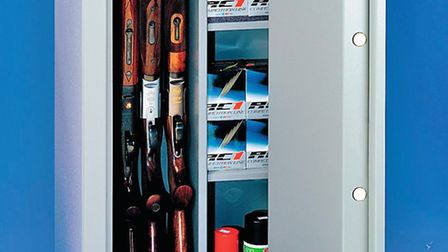 Make sure your guns are stored safely and securely