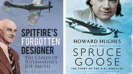 Spitfire's Forgotten Designer, and Howard Hughes and the Spruce Goose