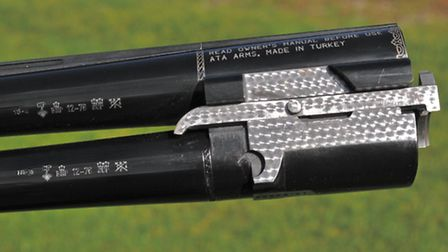 The barrels are proofed for steel; the ejector work on the monobloc looks very Beretta-like